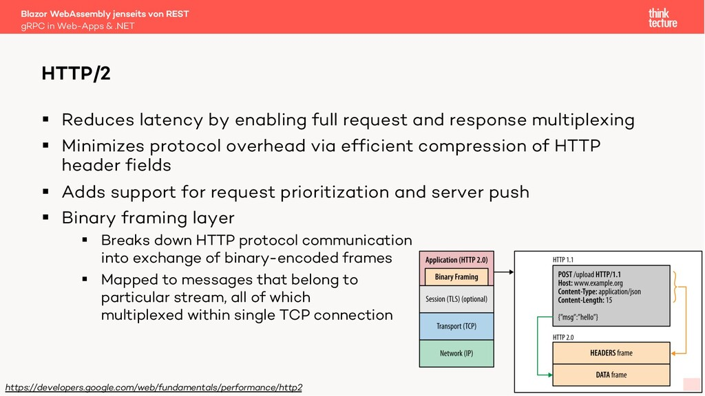 11 § Reduces latency by enabling full request a...