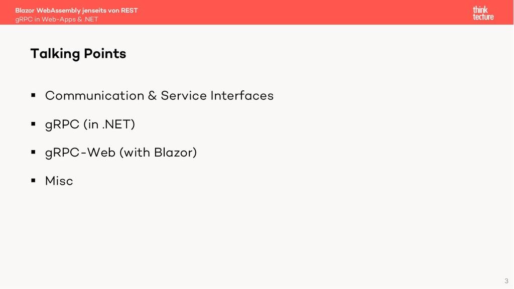 3 § Communication & Service Interfaces § gRPC (...