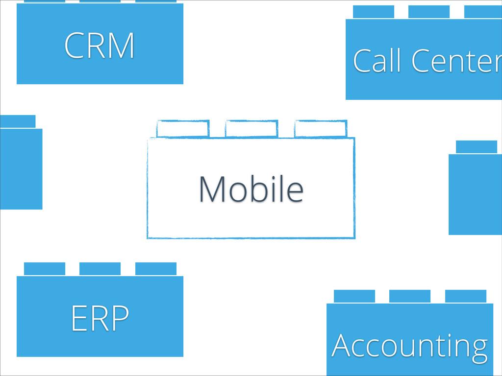 Mobile CRM Accounting ERP Call Center E