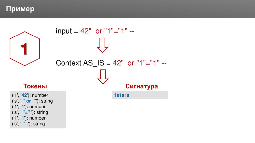 "Заголовок Пример input = 42"" or ""1""=""1"" -- Cont..."