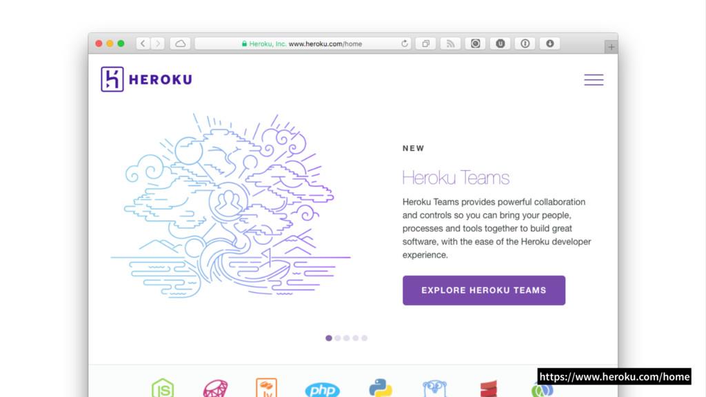 https://www.heroku.com/home