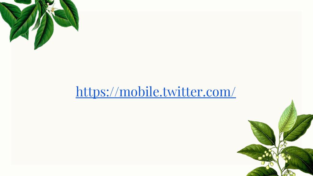https://mobile.twitter.com/