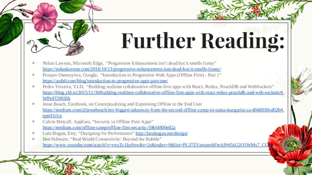 Further Reading: ◉ Nolan Lawson, Microsoft Edge...