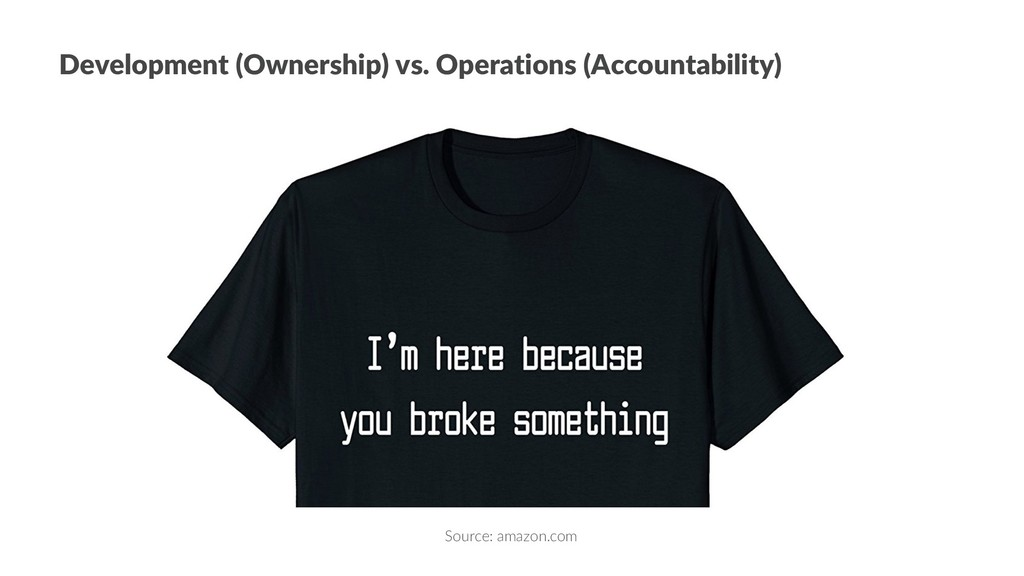 Development (Ownership) vs. Operations (Account...