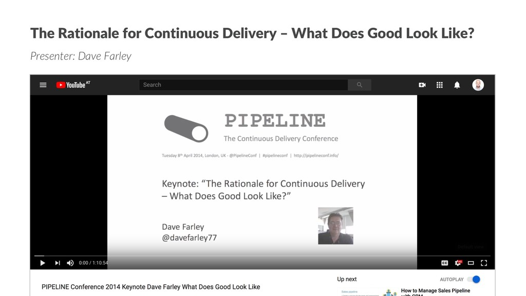 The Rationale for Continuous Delivery – What Do...