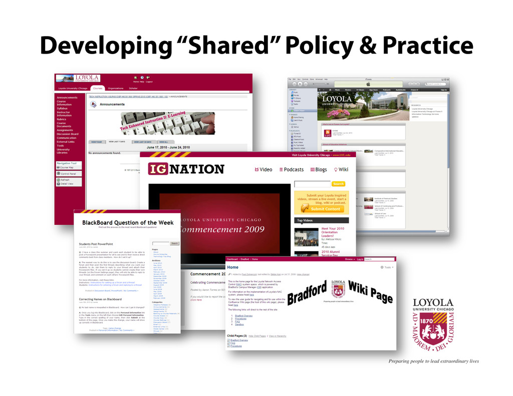 "Developing ""Shared"" Policy & Practice"