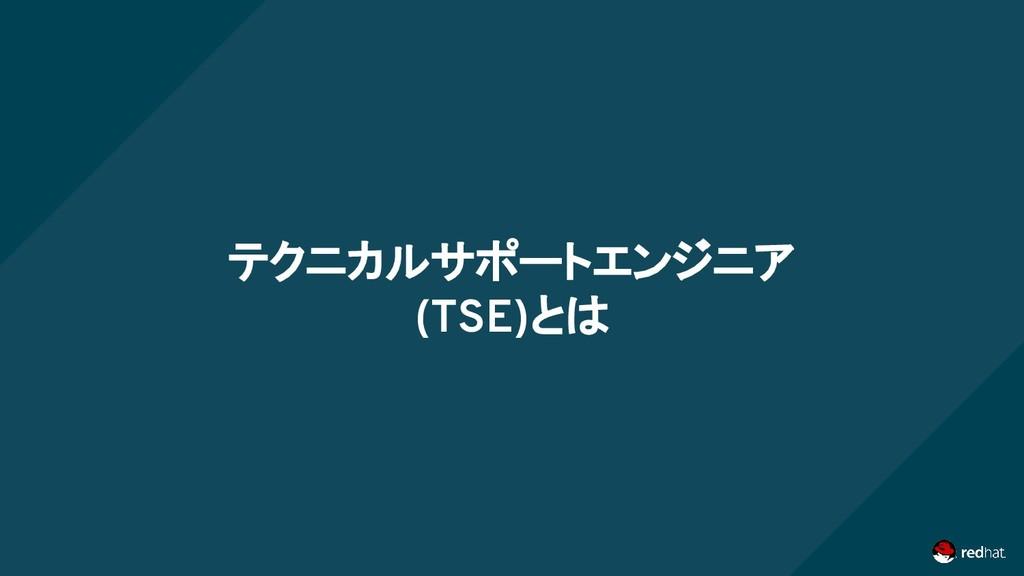 テクニカルサポートエンジニア (TSE)とは