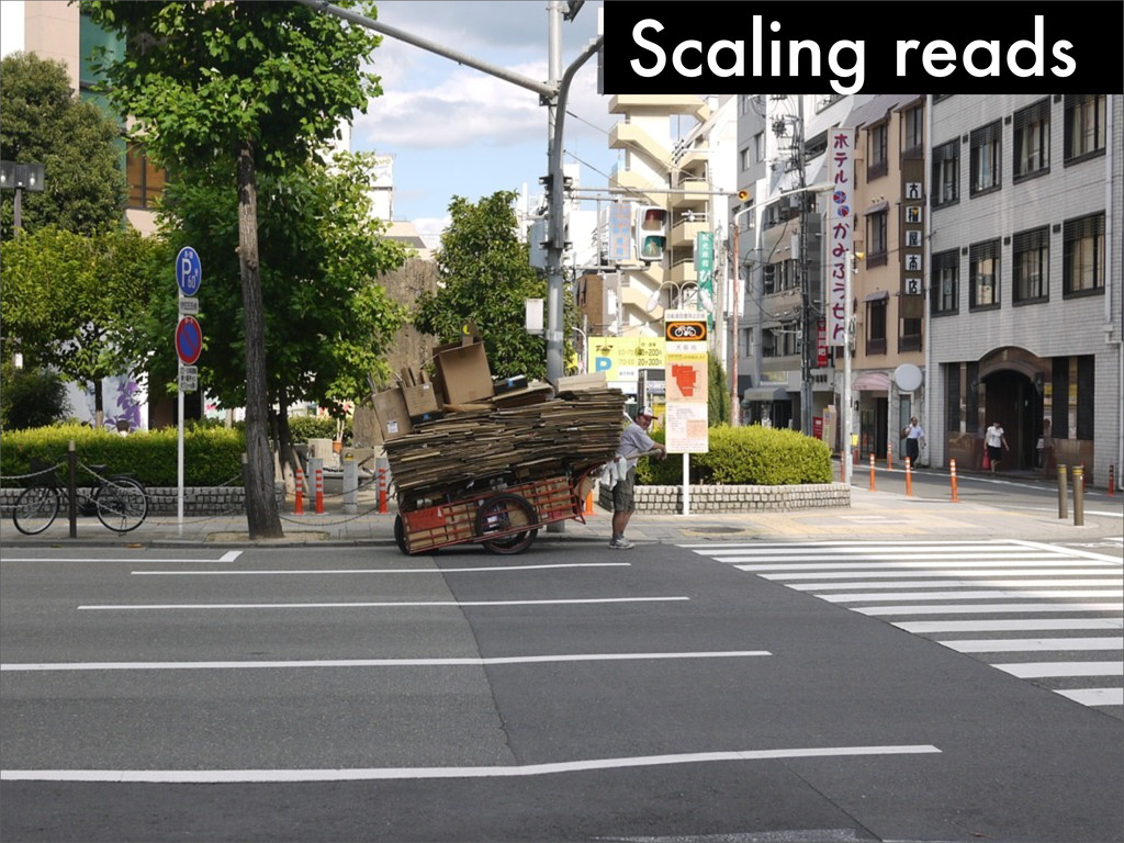 Scaling reads