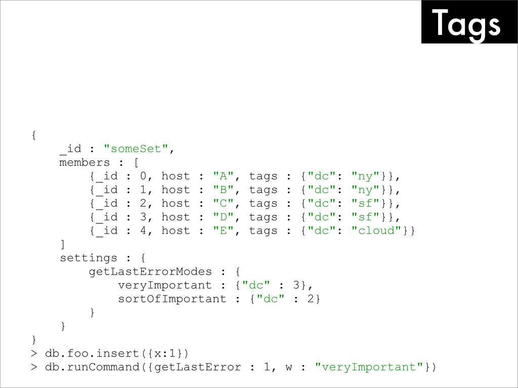 "Tags { _id : ""someSet"", members : [ {_id : 0, h..."