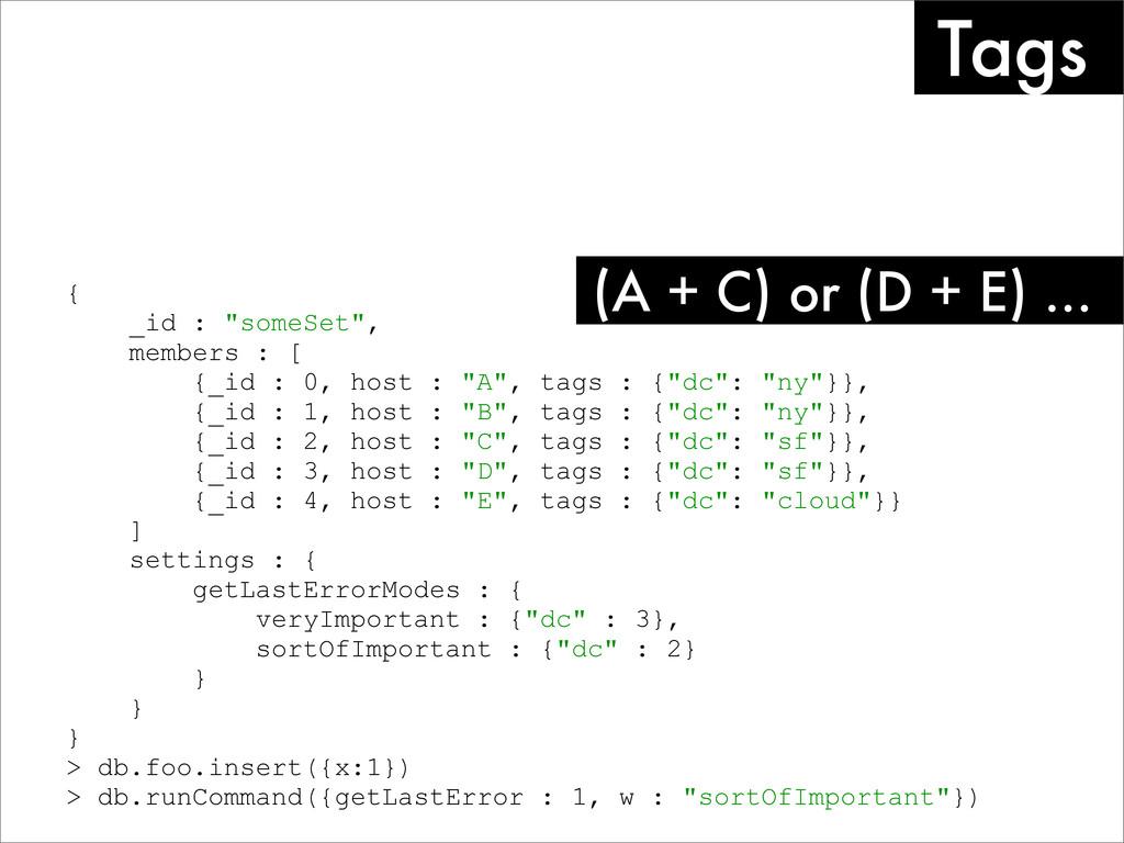 "{ _id : ""someSet"", members : [ {_id : 0, host :..."