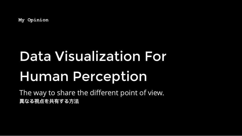 Data Visualization For Data Visualization For H...