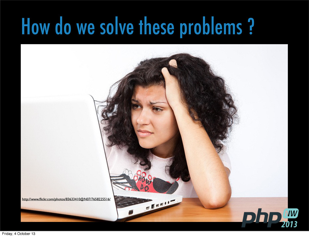 How do we solve these problems ? http://www.flic...