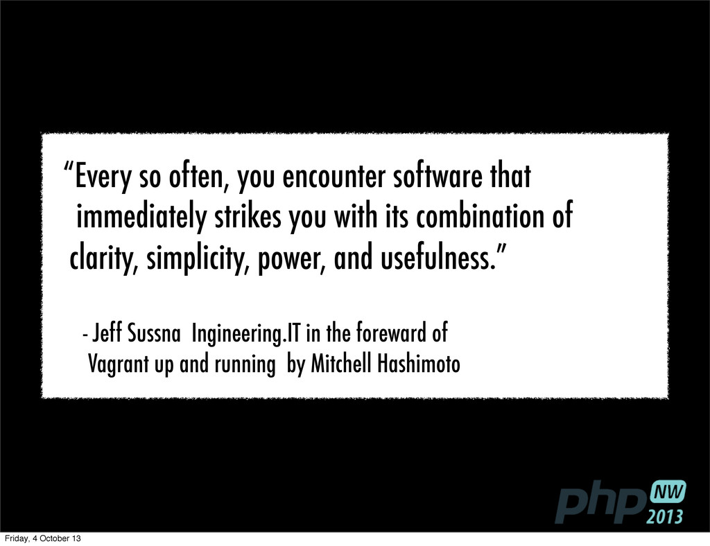 """Every so often, you encounter software that im..."