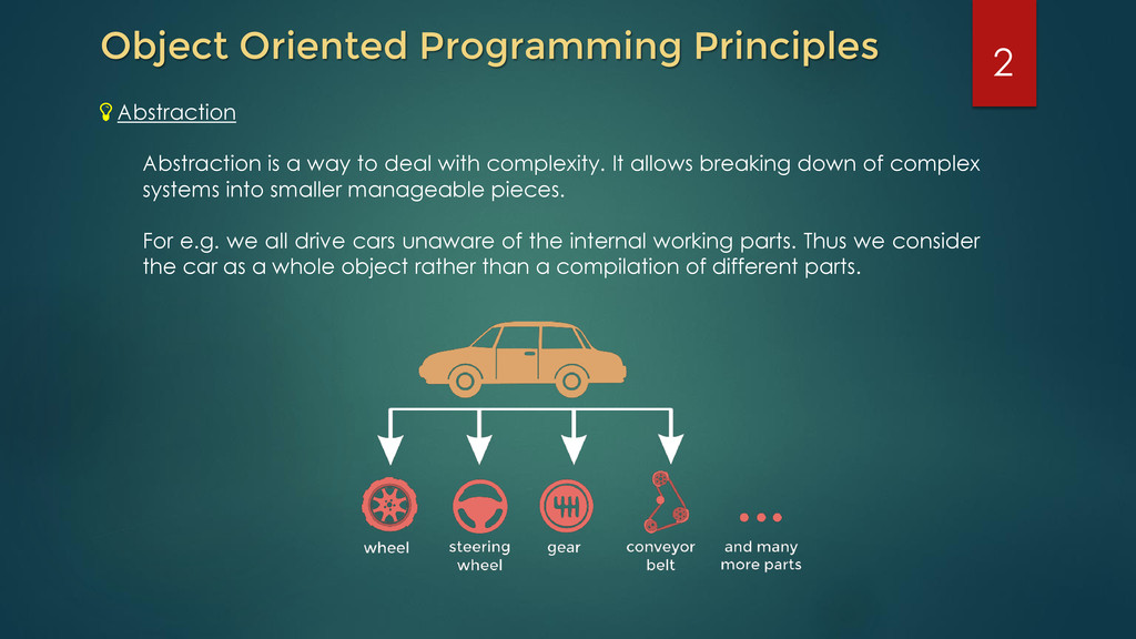 2 Object Oriented Programming Principles Abstra...
