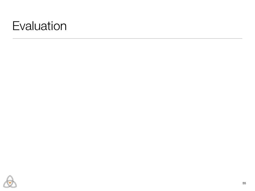 55 Evaluation