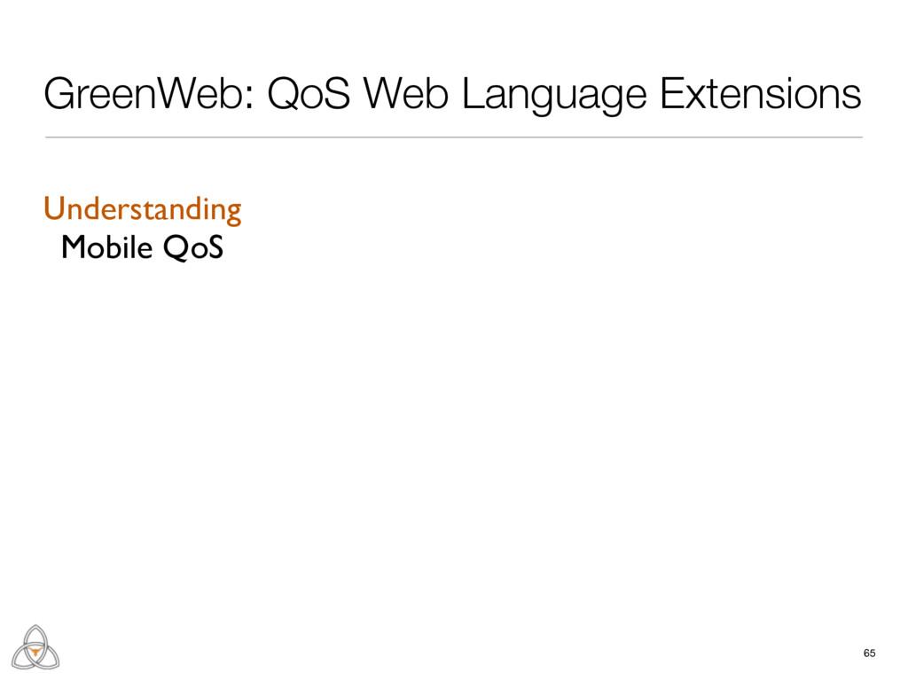 65 GreenWeb: QoS Web Language Extensions Unders...