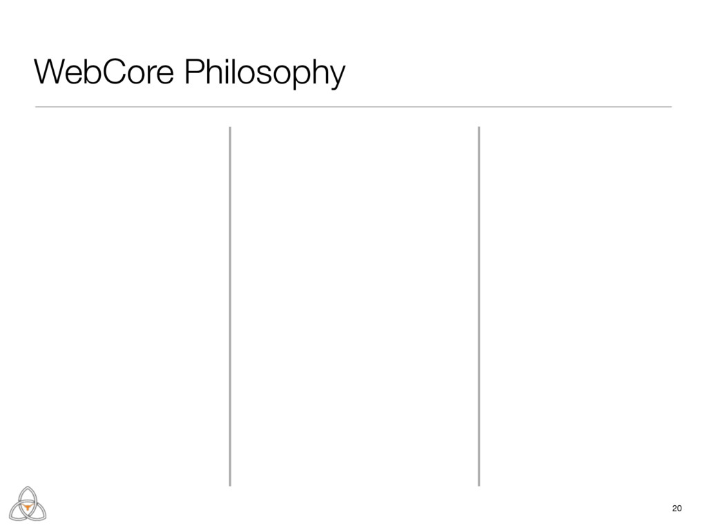 WebCore Philosophy 20