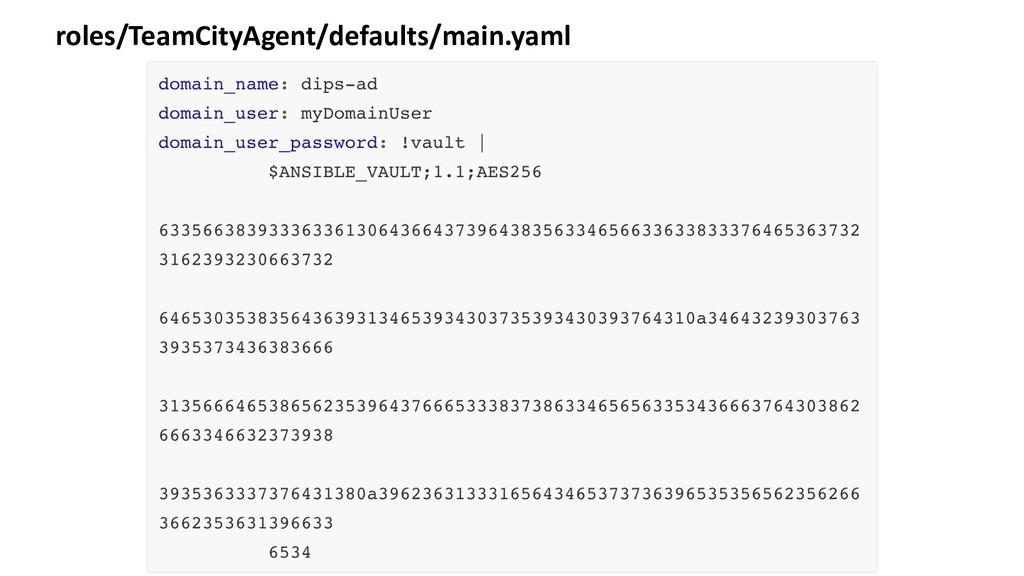 roles/TeamCityAgent/defaults/main.yaml