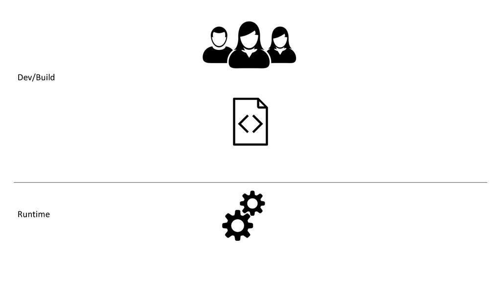 Dev/Build Runtime