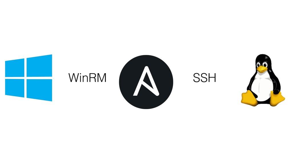 SSH WinRM