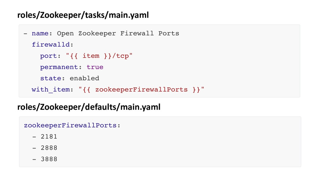 roles/Zookeeper/tasks/main.yaml roles/Zookeeper...