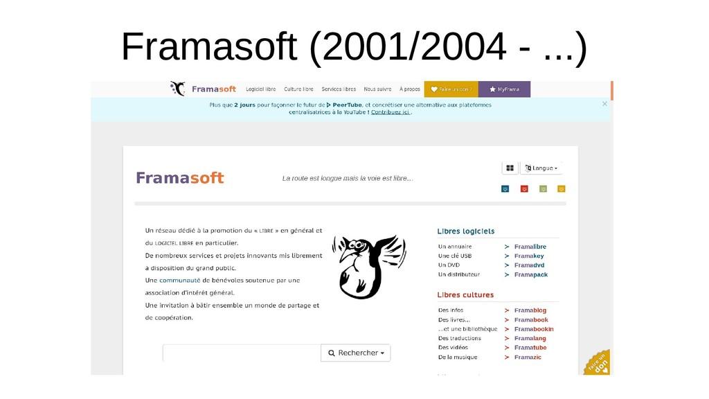 Framasoft (2001/2004 - ...)