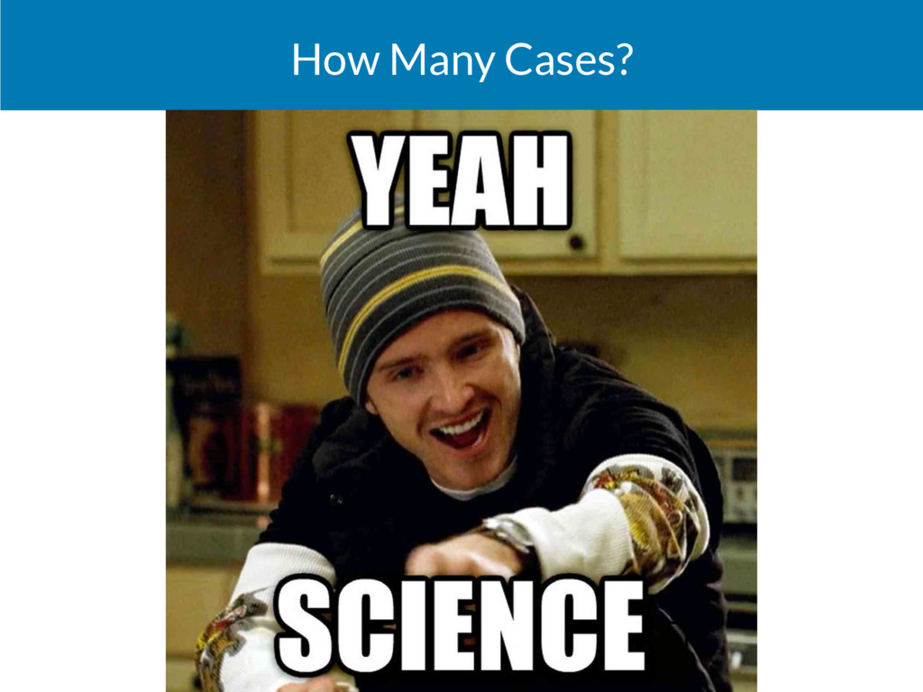 How Many Cases?