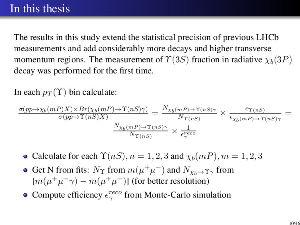 In this thesis The results in this study extend...