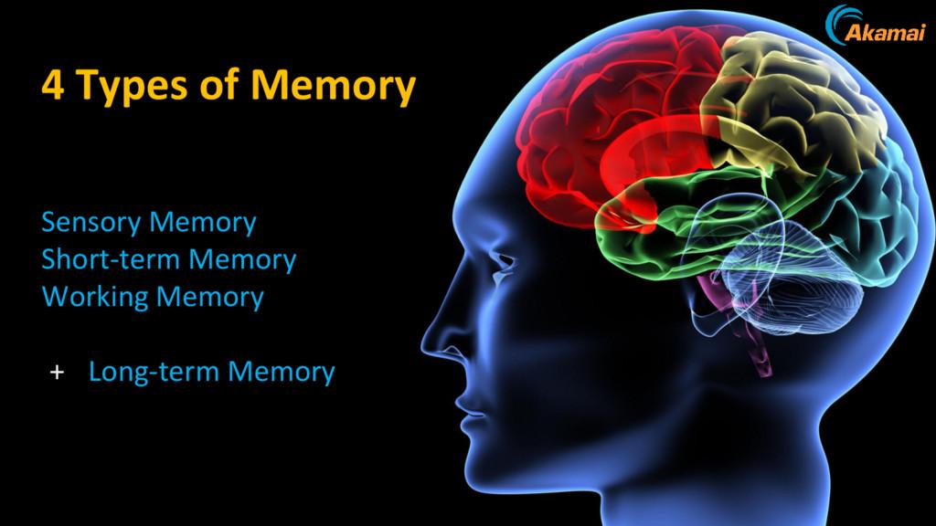 4 Types of Memory Sensory Memory Short-term Mem...