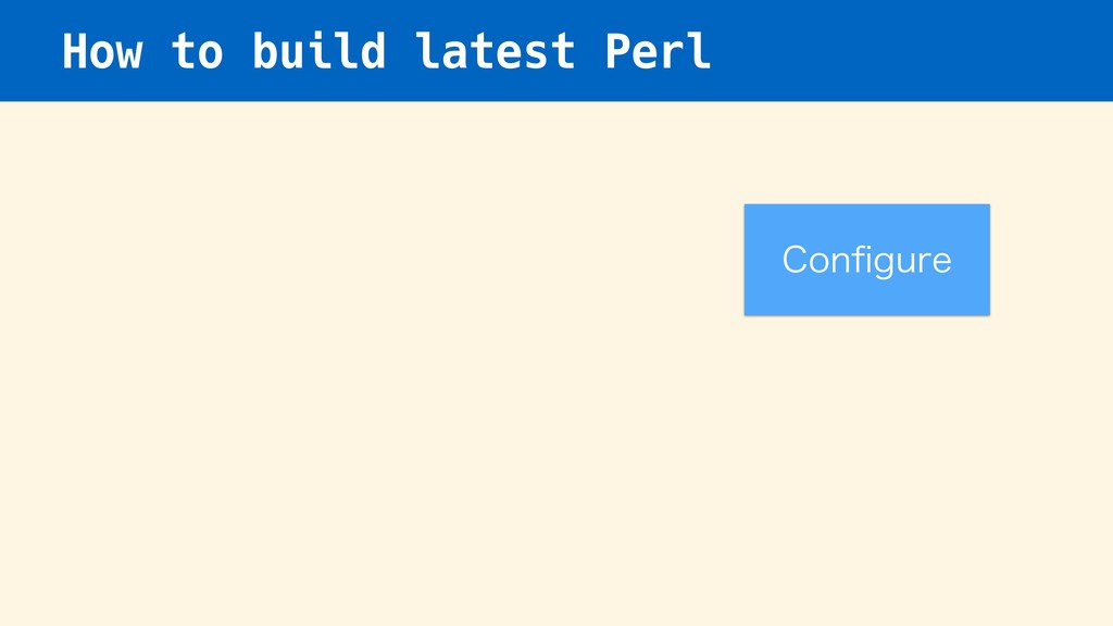 How to build latest Perl $POpHVSF