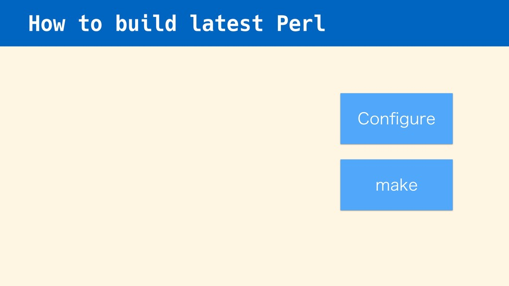 How to build latest Perl $POpHVSF NBLF