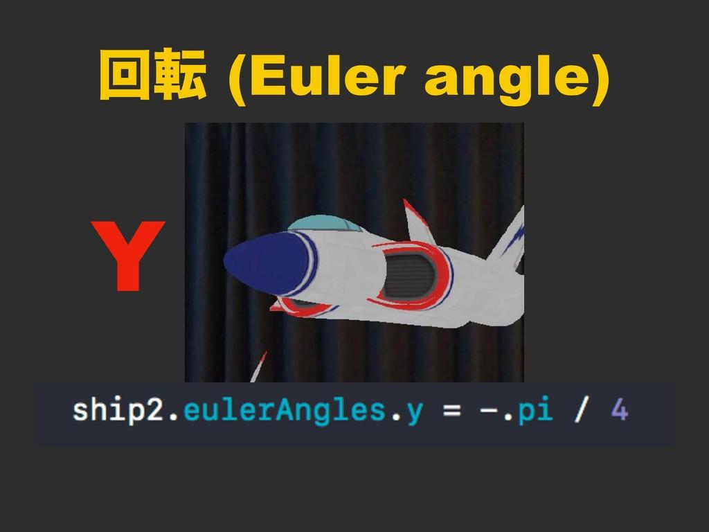ճస (Euler angle) Y