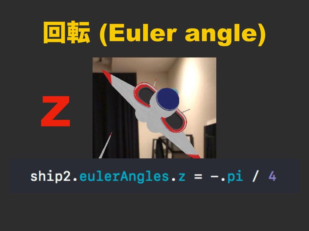 ճస (Euler angle) Z