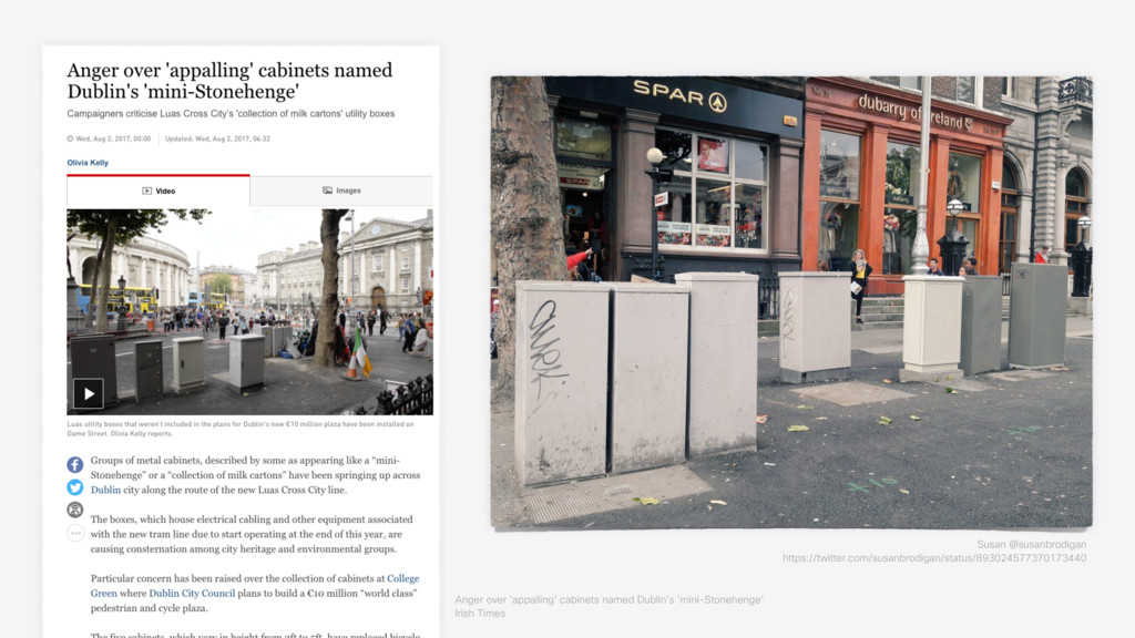 Anger over 'appalling' cabinets named Dublin's ...