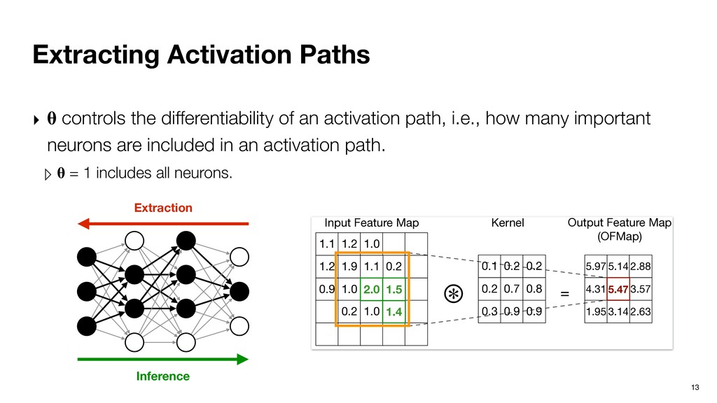 Extracting Activation Paths 13 ‣  controls the ...