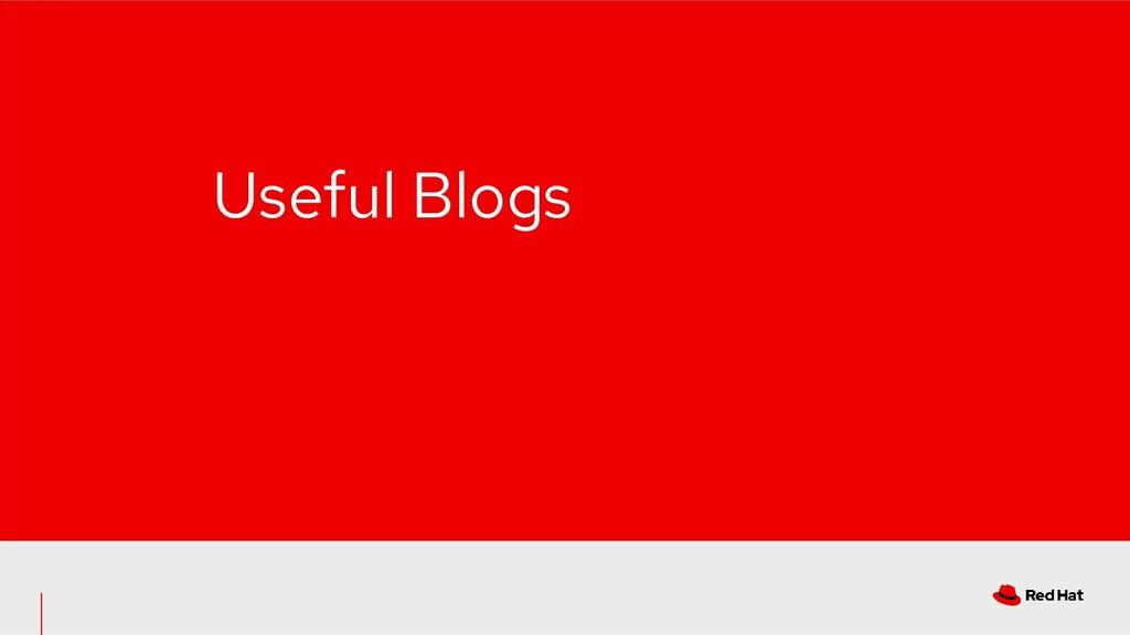 Useful Blogs