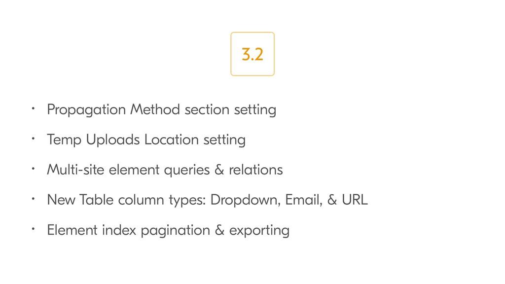• Propagation Method section setting • Temp Upl...