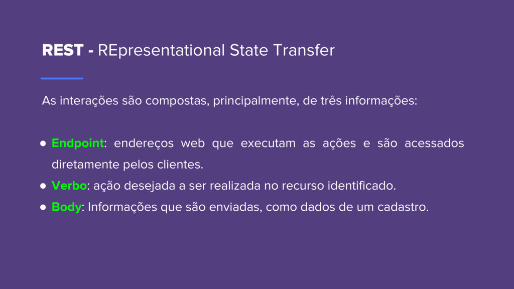 REST - REpresentational State Transfer As inter...