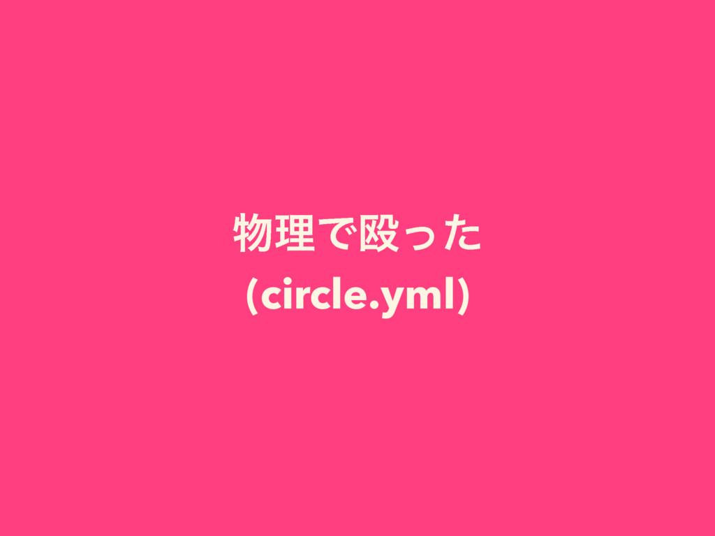 ཧͰԥͬͨ (circle.yml)