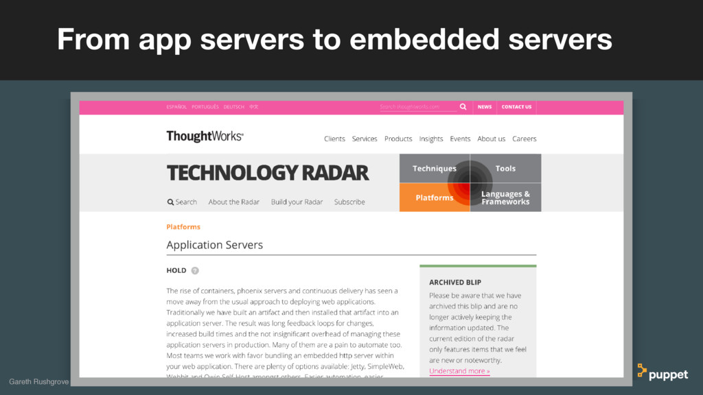 From app servers to embedded servers Gareth Rus...