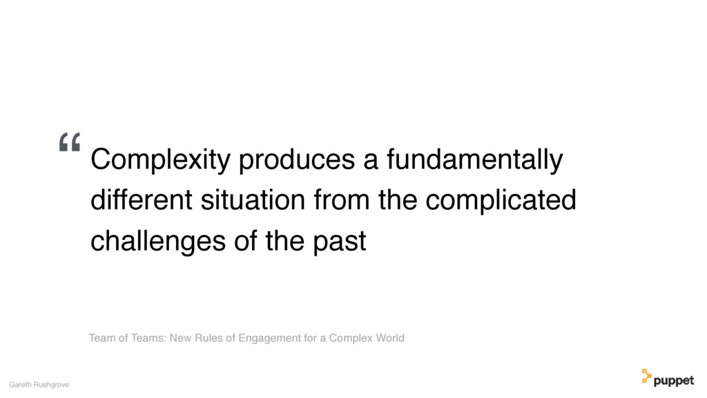 Complexity produces a fundamentally different s...