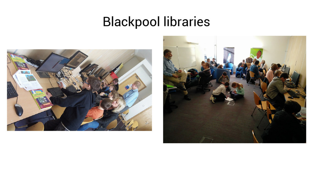 Blackpool libraries