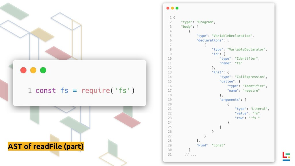 AST of readFile (part)