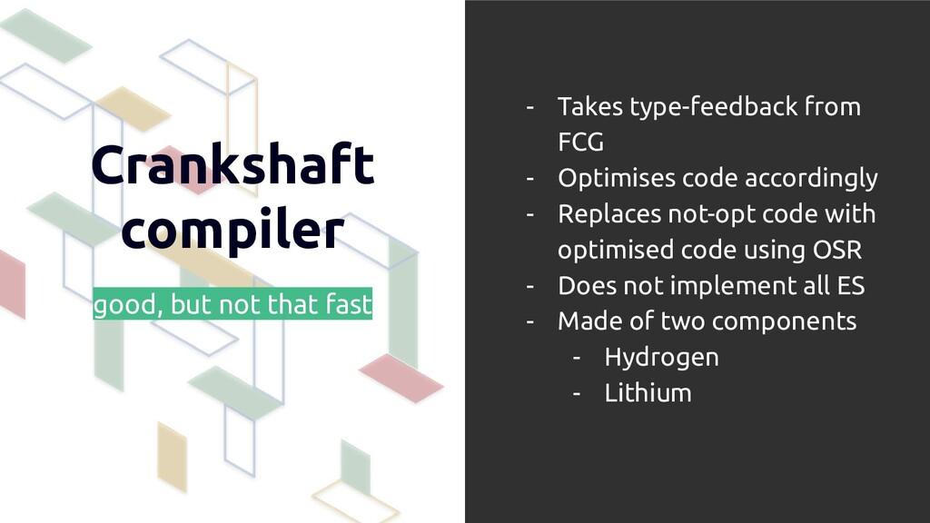 Crankshaft compiler good, but not that fast - T...