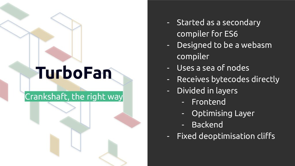 TurboFan Crankshaft, the right way - Started as...