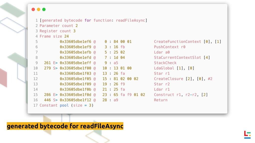 generated bytecode for readFileAsync