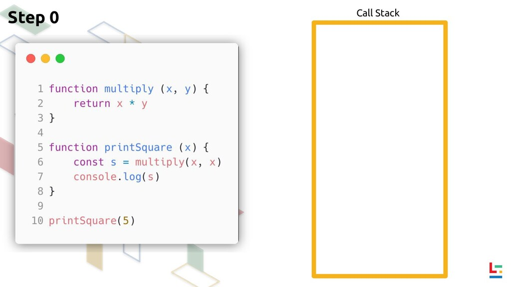 Call Stack Step 0