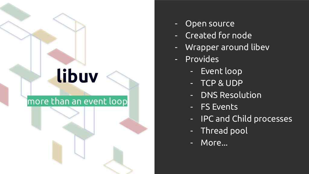 libuv more than an event loop - Open source - C...