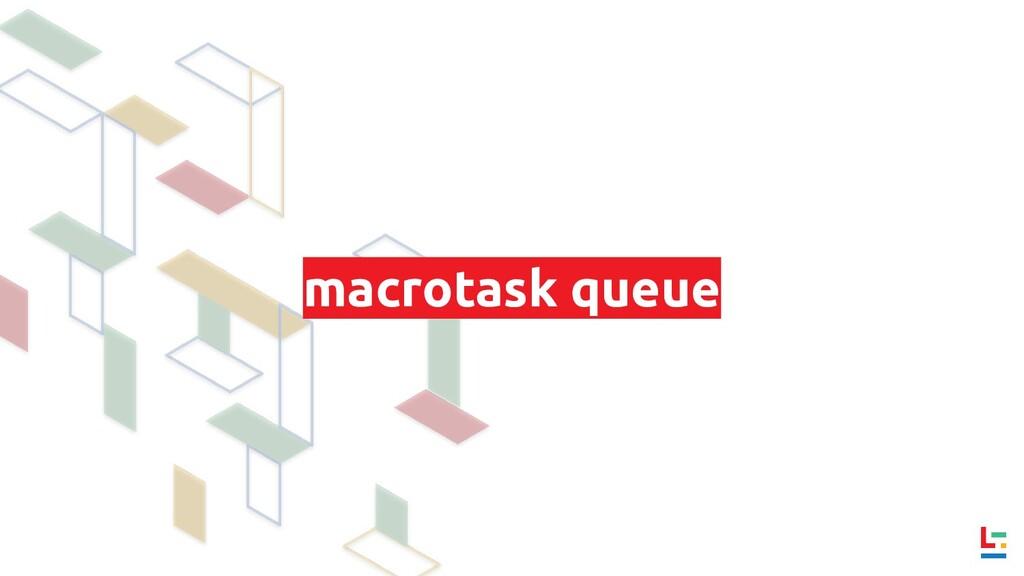 macrotask queue