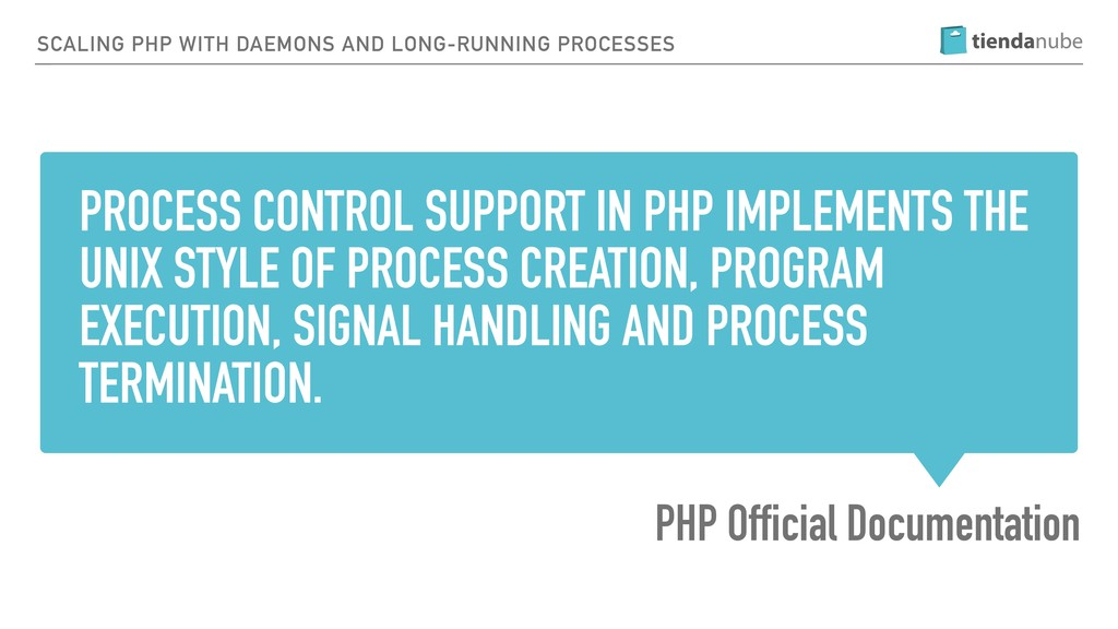 PROCESS CONTROL SUPPORT IN PHP IMPLEMENTS THE U...